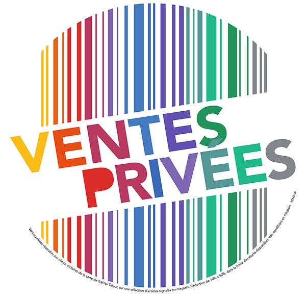 EN AVANT POUR LES VENTES PRIVÉES CHEZ TRÉSOR