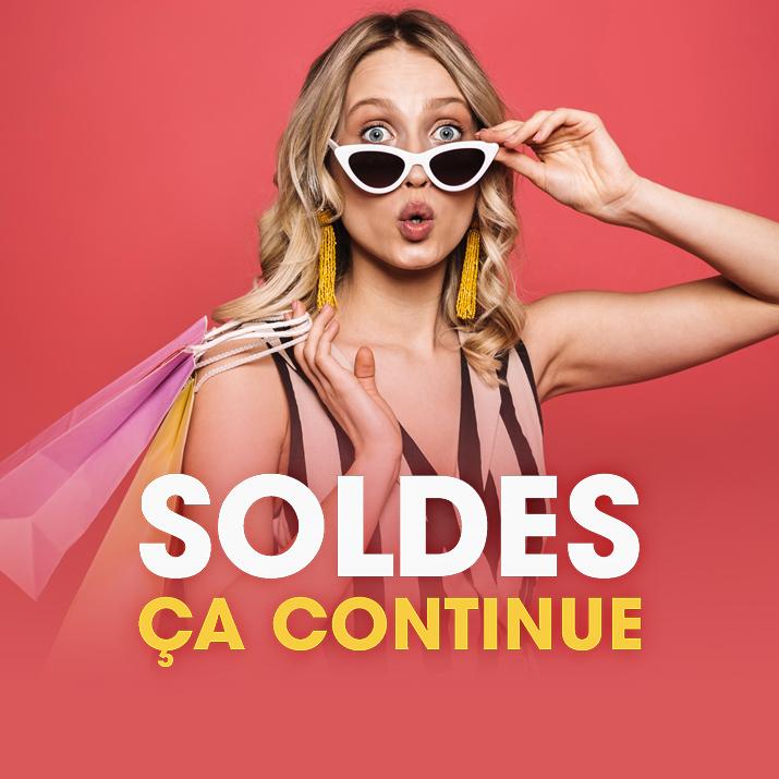 SOLDES : CA CONTINUE !
