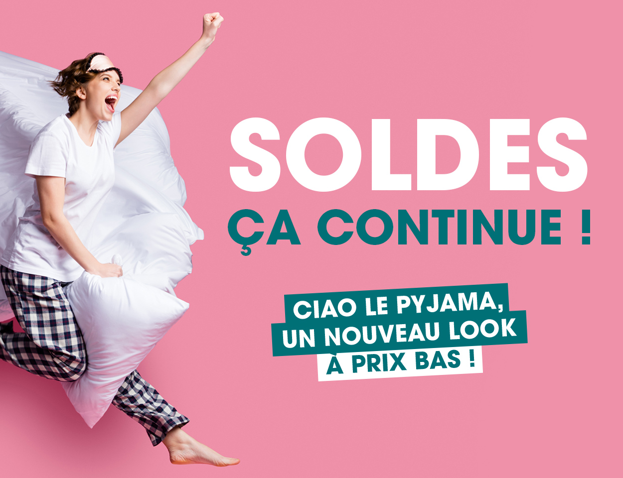 SOLDES : CA CONTINUE !!